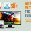 TTNET ile İnternet ve TV Şimdi Tek Pakette