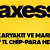 Axess'ten Akaryakıt ve Market Harcamalarına 29 TL Chip Para