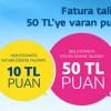 Nuvo Otomatik Ödeme Talimatı Kampanyası: 50 TL Puan