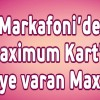 Maximum Kart'tan Markafoni'ye Özel 20 TL'ye Kadar Maxipuan