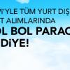 Atlasglobal'de Tüm Yurt Dışı Bilet Alımlarında Bol Bol Hopi Paracık Hediye!
