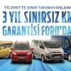 Ford Ticari Araç Satış Kampanyası