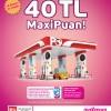 Petrol Ofisi'nde 40 TL MaxiPuan!