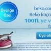 Beko Web Sitesine Üye Ol 100 Lira İndirim Kazan
