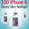 Denizbank'tan 100 Kişiye iPhone 6