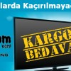 Kliksa'dan Ücretsiz Kargo ve 200 TL İndirim Avantajı ile TV