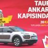 Taurus AVM'den Bir Kişiye Hem Ev Hem Araba