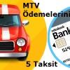 Bank'O Card ile MTV Ödemeleriniz 5 Taksit