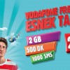 Vodafone Freezone Esnek Tarife: 25 TL