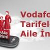 Vodafone Red Tarifelerinde Yüzde 30 Aile İndirimi