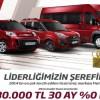 Fiat Ticari Araçlarda 30.000 TL, 30 Ay Vade, Yüzde Sıfır Faiz