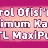 Maximum Kart'a Özel Petrol Ofisi'nde 25 TL Maxipuan