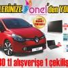 ONEL AVM Renault Yeni Clio Çekilişinin Sonuçları