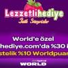 World Kart'tan Lezzetlihediye.com'da Sevgililer Günü Hediyesi Kampanyası