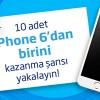 İş Bankası'ndan çekiliş ile 10 adet iPhone 6 Kazanma Şansı