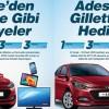 Adese AVM Gilette ve Permatik Hyundai Çekilişinin Sonuçları