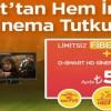 D-Smart'tan İnternet ve Sinema – Dizi Paketi Birlikte: Ayda 59 TL
