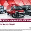 Fiat Ducato Mart Ayı Kampanyası: Uygun Faiz ve Vade ile 60.000 TL Kredi