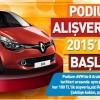 Podium AVM Renault Clio Çekilişinin Sonuçları