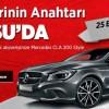 Tarsu AVM Mercedes CLA 200 Çekilişi Sonuçları
