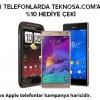 Teknosa'da Akıllı Telefonlar Tutarının Yüzde 10'u Kadar Hediye Çeki Kazandırıyor!