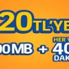 Turkcell Hazır Kart'a Geçiş Yapanlara Bol 400 Paketi