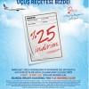 AnadoluJet' ten Sağlık Personeline Özel Yüzde 25 İndirim Kampanyası