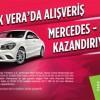 Park Vera AVM Mercedes CLA 200 Araba Çekilişi Kampanyası
