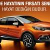 Renault'tan Nisan Ayına Özel Düşük Faizli Kredi Kampanyası