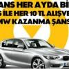 Axess Nisan Ayı BMW Çekilişinin Sonuçları