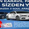 Ceylan Karavil Park AVM Mazda Çekilişinin Sonuçları