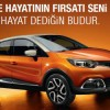 Renault'tan Mayıs Ayında Düşük Faizli Kredi Kampanyası