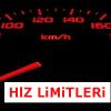 2015 Hız Limitleri ve Cezaları