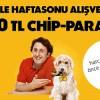 Axess'ten Hafta Sonu Alışverişlerine 50 TL Chip Para