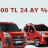 Fiat'tan Haziran Ayı Kampanyası: 24.000 TL, 24 Ay, Yüzde Sıfır Faiz