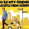 Axess ile MTV Ödemeniz Hem Taksitli, Hem de Sürprizli