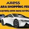 Axess Kredi Kartı ile Ankara'da Yapacağınız Alışverişlerde Araba Kazanma Şansı