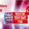 Vodafone'da Akıl küpü Tarifeler