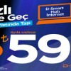 D-Smart'tan Hızlı internet ve D-Smart Blu Kampanyası