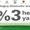 Doğuş Otomotiv Araçlarına BP'den Yüzde 3 Hediye Yakıt