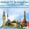 Philips Android TV'den Avrupa'ya Uçuş Kampanyası