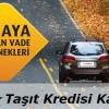 Vakıfbank'tan Sonbahara Özel Taşıt Kredisi Kampanyası