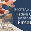 Teknosa'dan 500 TL'ye Kadar Hediye Çeki Kampanyası