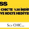 Axess'ten So Chic'e Özel Yüzde 30 İndirim Kampanyası