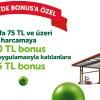 Bonus Kart'tan Total'e Özel 35 TL Bonus