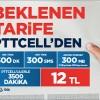 Pttcell'den Beklenen Kampanya: 12'lik Kampanya
