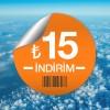 AeroBilet'ten Bugüne Özel 15 TL İndirim Fırsatı