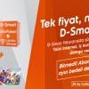 D-Smart'tan Limitsiz İnternet ve Aile Paketi 69 TL