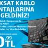 Türksat Kablo'dan Limitsiz İnternet ve Her Yöne 100 Dakika 20,99 TL