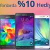 Teknosa'dan Akıllı Telefonlara Özel Yüzde 10 Hediye Çeki Kampanyası